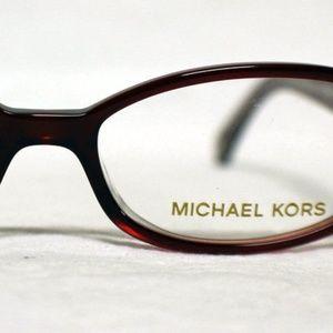 Michael Kors Glasses -MK841 Burgandy with Case NEW